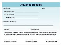 fee receipt format acknowledgement receipt sample format advance template systematic