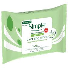 simple kind to skin cleansing wipes 25 ct