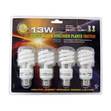 6400k Grow Light Sun Blaster Cfl 6400k Grow Light Bulb Set Of 4 In 2019