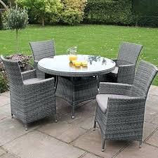 round rattan garden chairs baby rattan garden furniture grey 4 round table set rattan garden furniture