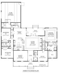 kitchen side load garage houses bedroom rancher inspirational ranch corner lot 1024x1004 pretty house plans 1