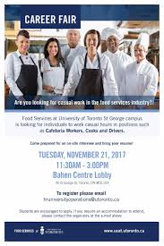 "Working At U Of T On Twitter: ""#uoft Seeks Casual Cafeteria Staff ..."