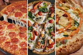 Pizza Hut Nutritional Information Chart Slideshow New Menu Items From Pizza Hut Pie Five Mod