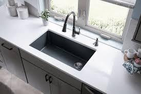 quartz sink reviews. Beautiful Sink Elkay Quartz Classic 33u2033 Single Bowl Kitchen Sink With Reviews Quality Bath