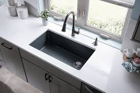 elkay quartz classic 33 single bowl kitchen sink
