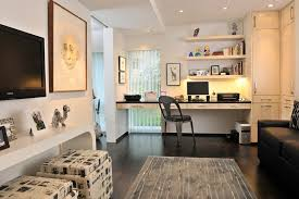 home office den ideas. Narrow Den Ideas Home Office Contemporary With Built-in Cabinets White Wall Wall-mounted D