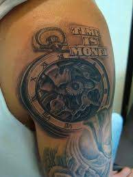Time Is Money Tattoo Time Is Money Money Tattoo Money Tattoo