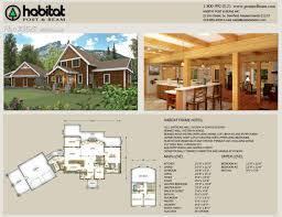 habitat post and beam house plans best of 100 habitat homes floor plans