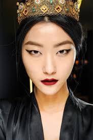 asian eye makeup with cut crease asianmakeup hoodedeyes cutcrease