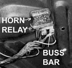 catalog the condition of connections at the horn relay screws is very important to system operation the entire dash area will be operating power drawn from