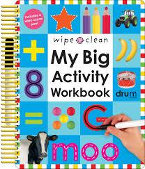 amazon wipe clean my big activity workbook my big step by step 9780312502140 roger priddy books