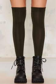 fila knee high socks.   how to wear over-the-knee socks popsugar fashion photo 19 fila knee high