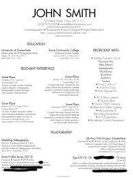 Freelance Photographer Resume Examples Resume Resume For Photographer Discoverymuseumwv Worksheets For 18