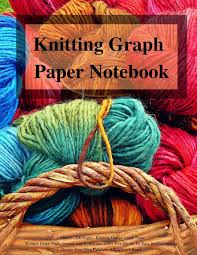 Knitting Graph Paper Notebook 4 5 Ratio 200 Pages Knitting Design