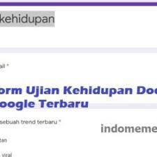 Kali ini ulasmedia mau share link ujian tingkat ketololan docs yang dapat anda jawab melalui google form. Link Ujian Tingkat Ketololan Docs Google Form Terbaru Indonesia Meme