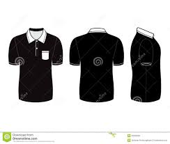 shirt design templates polo shirt design templates front back and side views stock