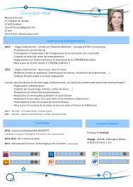 Modele De Cv En Francais Pour Etudiant Resume Template