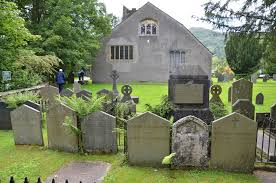 baugh s blog photo essay wordsworth s lake district homes the wordsworth family graves at the back of st oswald s churchyard in grasmere