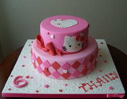 Hello Kitty Cake 7th Birthday Party Hello Kitty Cake Hello
