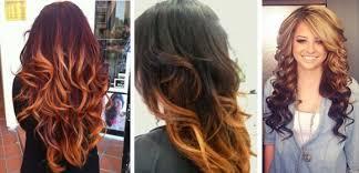 Ombre Odstíny Na Tmavých Vlasech Ombre Na Rudé Vlasy Způsoby A