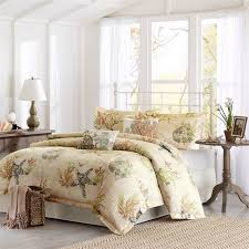 coastal living bedding tropical bedroom