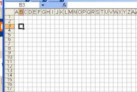 Chemknits How To Make A Knitting Chart In Excel Part 1