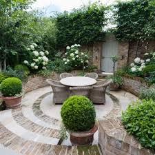 brick patio ideas. Patio - Small Traditional Brick Idea In London Ideas