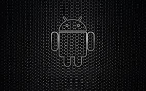 2560x1600 desktop android black logo background wallpaper 1013521