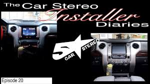 Toyota Tundra factory stereo upgrade! Installer diaries 20 - YouTube