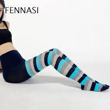 <b>FENNASI Autumn Winter</b> Striped Women's Tights Ladies ...