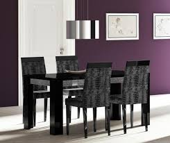 wonderful black dining table and chairs with black wood dining table