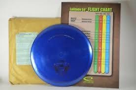 Latitude 64 Chart Core Gold Line 175g W 2009 Flight Chart Latitude 64 New