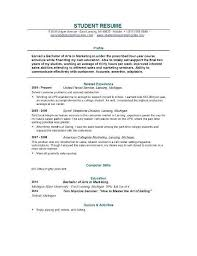 College Student Resume Examples Mesmerizing Resume Examples For College Graduates Best Resume Collection