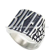 china zoryn 316l snless steel ring biker ring vine gothic ring simple style whole