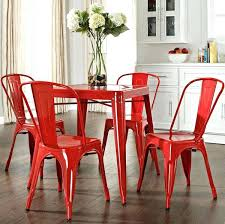 red retro chairs. Gorgeous Red Dining Chairs Room Set Retro