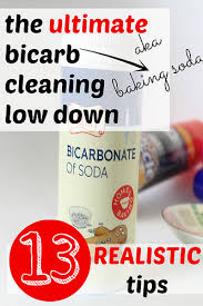 Top 10 cleaning uses for bicarbonate of soda. baking_soda_cleaning
