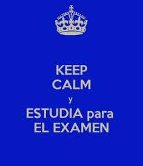 Image result for manten la calma y estudia para el examen final