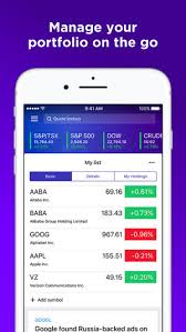 Yahoo Quotes 75 Stunning Yahoo Finance On The App Store