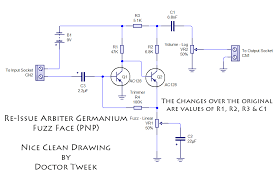 arbiter germanium fuzz face re issue kit doctor tweek s blog germanium fuzz face re issue kit from doctor tweek
