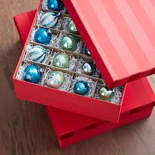 Corrugated Ornament Storage Trays  The Container StoreChristmas Ornament Storage