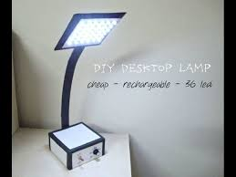 do it yourself led lighting. How To Make A Powerful Rechargeable LED Lamp At Home DIY Homemade Do It Yourself Led Lighting