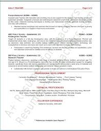 Preschool Teacher Resume Impressive Resume For Preschool Teacher Unique Assistant Teacher Resume