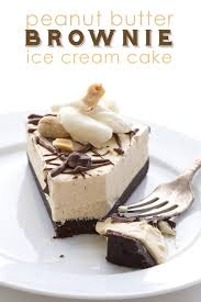 Low Carb Keto Peanut Butter Brownie Ice Cream Cake All Day I Dream