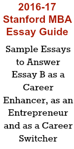 sample stanford mba essay a what matters most to you and why