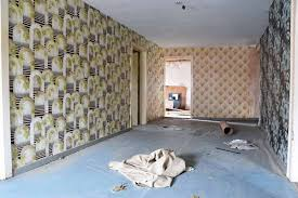 how to paint over wallpaper and never