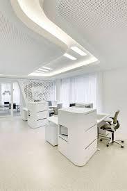 white office interior. raiffeisen bank office in zurich by nau design studio white interior