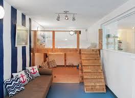 Charming Kids Basement Bedroom