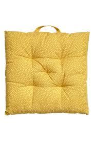 <b>Подушка на стул</b> с рисунком - Желтый - HOME | H&M RU
