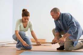 installing laminate flooring in kitchen