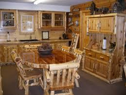 Log Furniture Bedroom Sets Watch More Like Log Home Dining Room Furniture